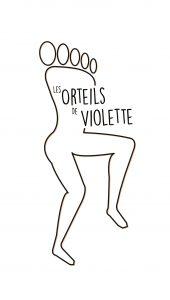 logo de l'association les orteils de violette
